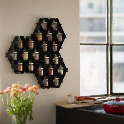 Ruche | Honeycomb Shelving