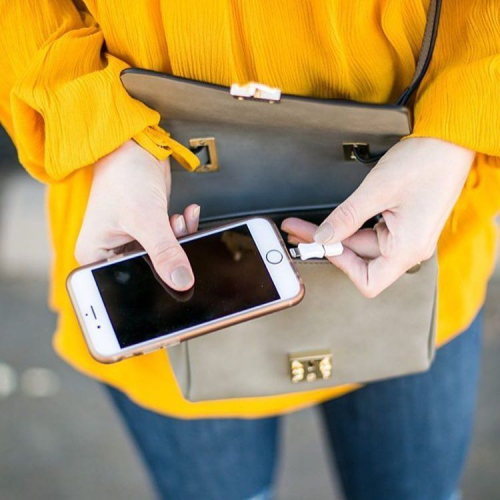 HButler | The Purse That Charges Your Phone