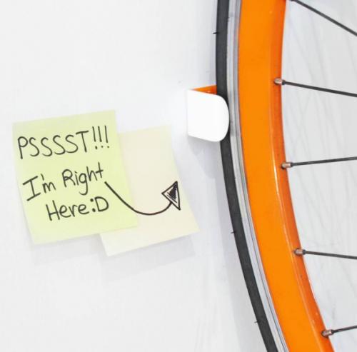 Clug | World's Smallest Bike Rack