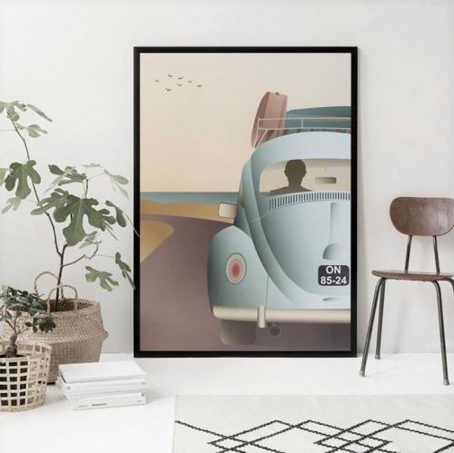 VISSEVASSE   Dreamy Pastel Posters