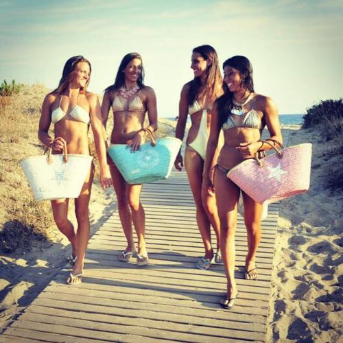 Twenty Violets | Stylish Straw Beach Bags