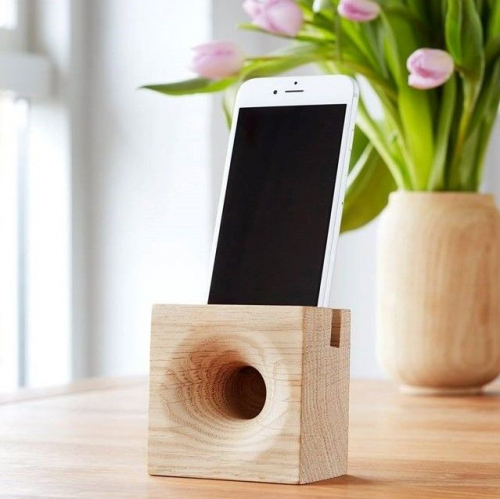 SONO AMBRA | Wooden Smartphone Speakers