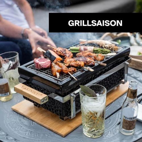 Grillsaison | Statement-Grills für jeden Garten