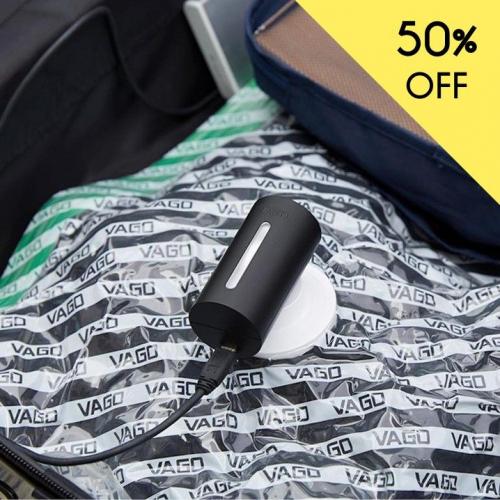 Vago | Genious Portable Baggage Compressor