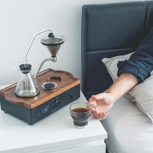 Barisieur   Guten Morgen: Innovativer Kaffee-Wecker