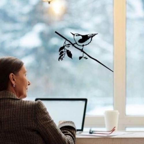 Metalbird | Vogelsilhouetten die deinen Garten & Balkon aufhellen