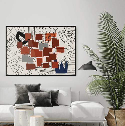 1 of 135 | Brillante Wandgestaltung