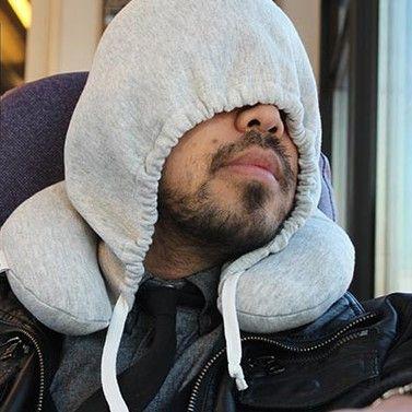 HoodiePillow | Inflatable Sleeping Hoodie