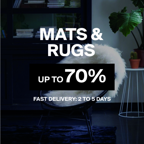 Mats & Rugs   Up to 70%