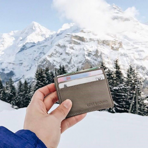 Lost & Found | Innovative Cash & Card Holders