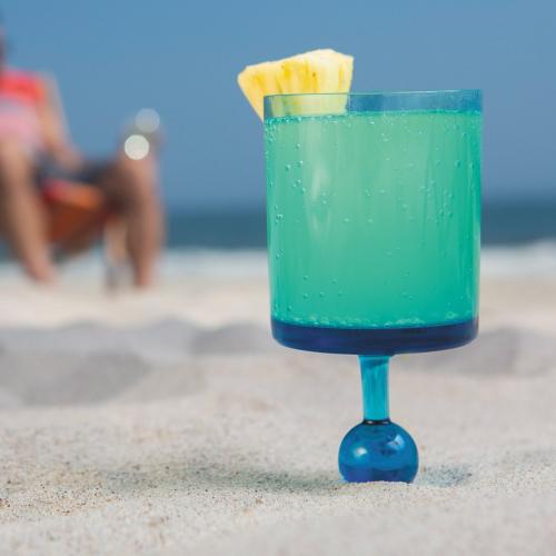 Beach Glass | Coole Mehrweggläser für Drinks am Strand