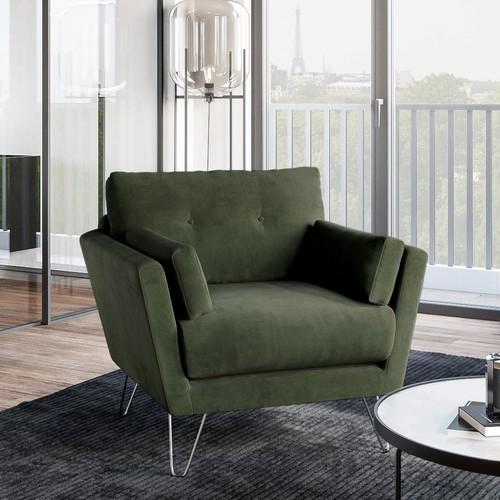 Guy Laroche Home   Eleganter Komfort fürs Wohnzimmer: Samt-Sofas