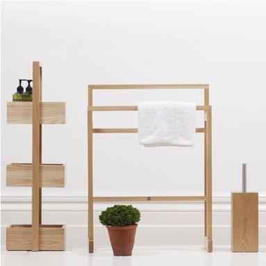 Wireworks   Badezimmer-Accessoires aus Holz