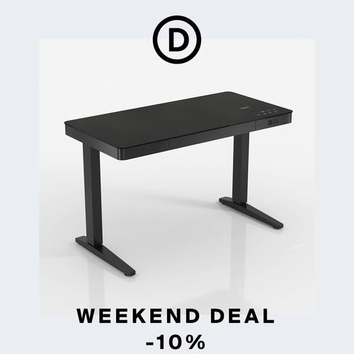 Weekend deal | Adjustable desks for a healthier work-life