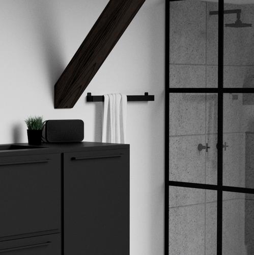 NICHBA-DESIGN | Minimalistischer (T)raum: Schlichtes Badezimmerzubehör