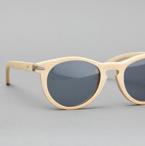 Waiting For The Sun | Artful Wooden Sunglasses
