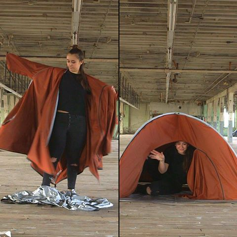 ADIFF | Tent Jacket: From Coat to Tent