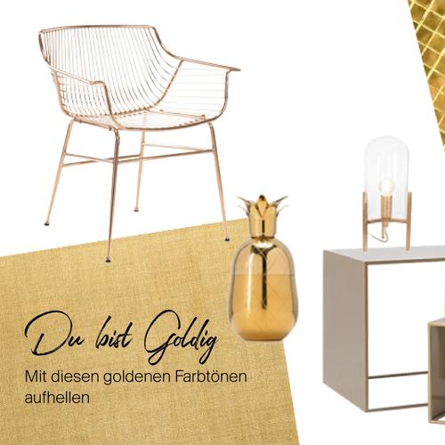 Gold-Special   Glamour für zu Hause