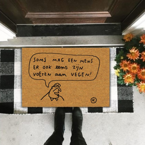 Kreisy | Funny Doormats by Kamagurka