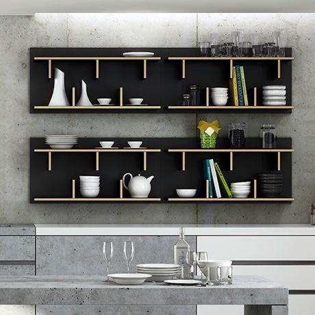 TemaHome | Contemporary Bookshelves