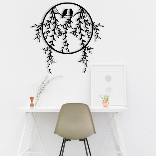 Skyler | Holz, Metall & mehr: Expressive Wanddeko