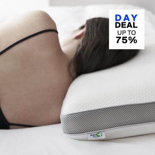 SleepMed   Für einen gesunden Schlaf: Memoryschaum-Kissen
