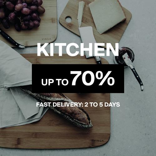 Kitchen | Up to 70%