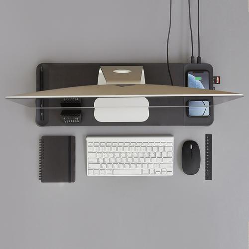POUT   Komfortables Arbeiten: Smarte Schreibtisch Organizer