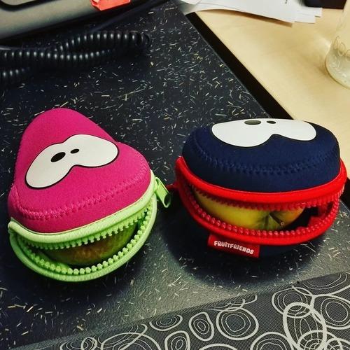 Fruitfriends   Bereit für die Schule: Süße Lunchboxen & Hüllen