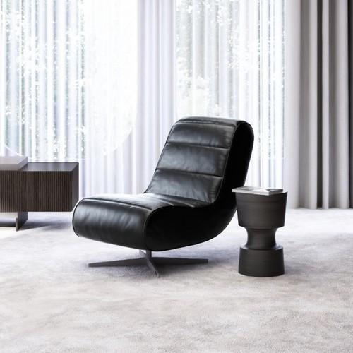 Ted Lapidus Maison | Modernes Designerstück: Drehsessel