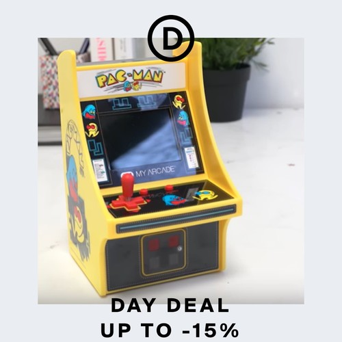 Deal of the day | Arcade at home: the retro game revival