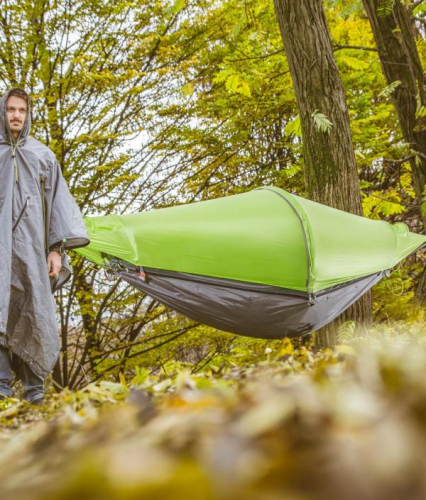 flying tent | (Hanging) Tent, Hammock & Poncho: 4 in 1