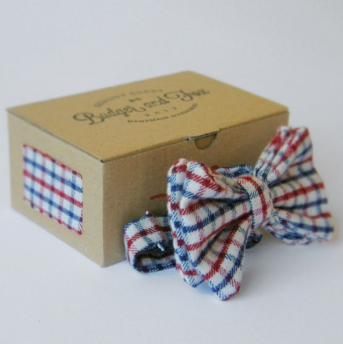 Badger and Fox | Handmade Bowties