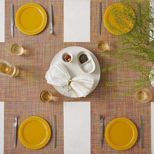 Chilewich   Easy to clean vinyl placemats