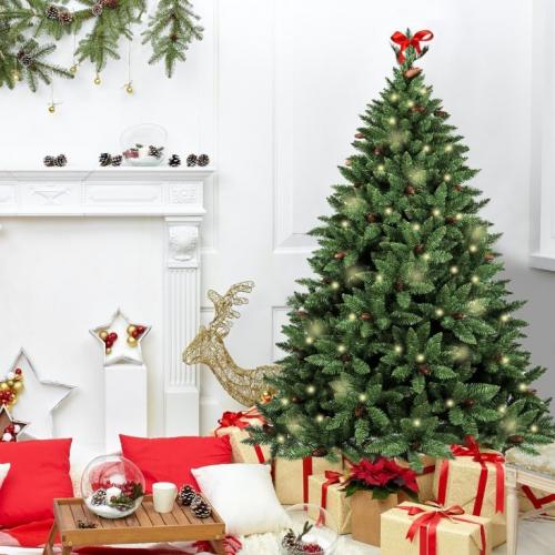 Evergreen House | Fast wie das Original: prächtige Weihnachtsbäume