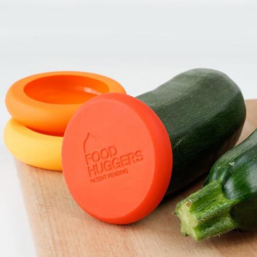 Food Huggers | Silikondeckel für knackige Lebensmittel