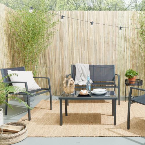 Lifa Living | Kuschelecke im Freien: 55% Rabatt auf dieses Garten-Lounge-Set
