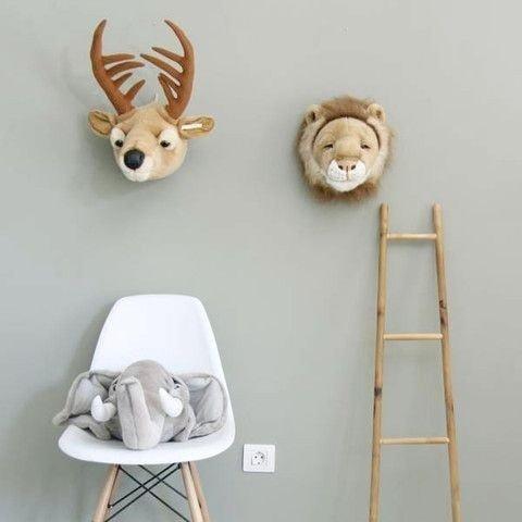 Wild & Soft   Flauschige Tier-Freu(n)de für die Wand