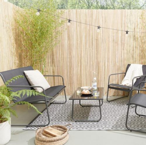 Lifa Living   Ruhe & Gelassenheit: Garten-Lounge-Set Camilla