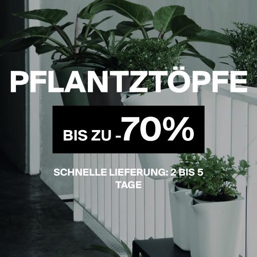 Pflanztöpfe | Bis zu -70%