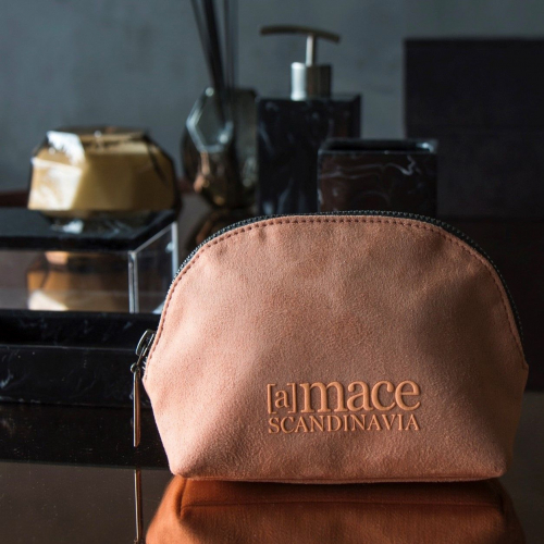 Amace Scandinavia | Luxurious Suede Cosmetic Cases