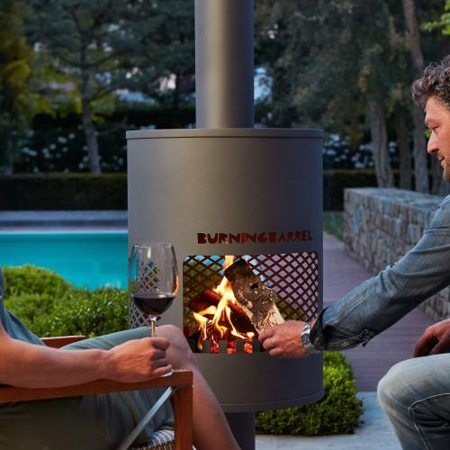 BurningBarrel | Solid & Stylish Fire Place