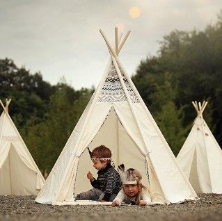 Vigvam | Tepees With a Lively Imagination
