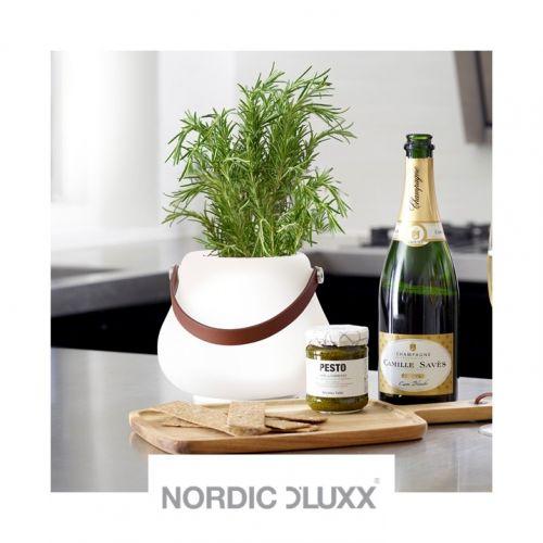 NORDIC D'LUXX | Pots à fleurs avec lumière intégrée