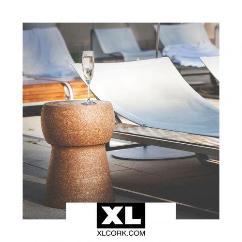 XLCORK | Tables & tabourets pétillants