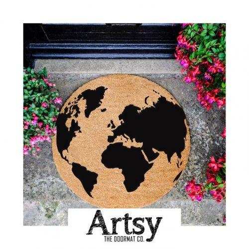 Artsy | Paillassons Ronds en Coco