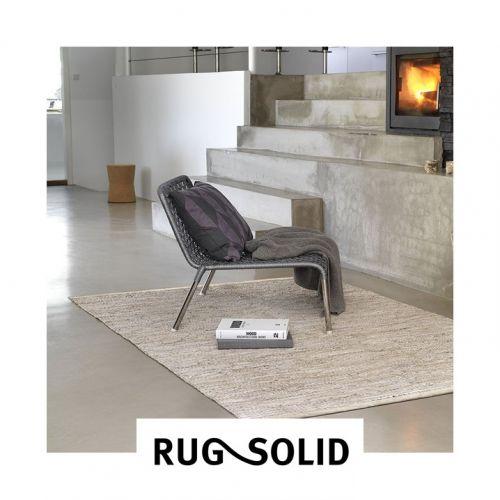 Rug Solid | Tapis en Coton Recyclé