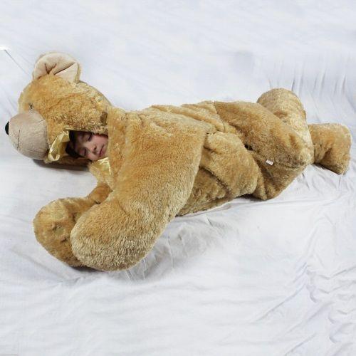 Snoozoo | XL Stuffed Animal & Sleeping Bag in One