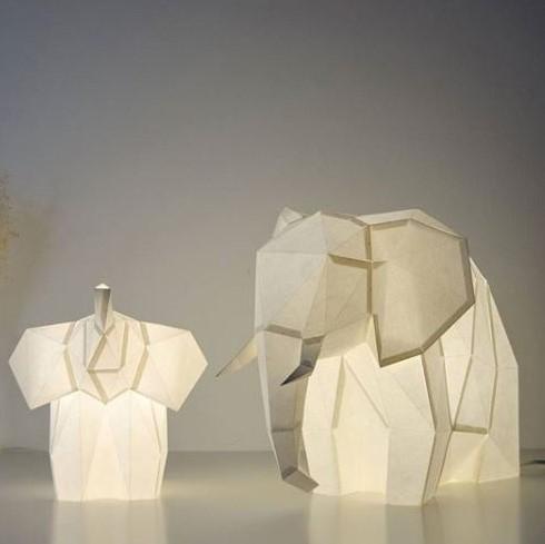 OWL paperlamps | DIY Animal Papercraft Lamps