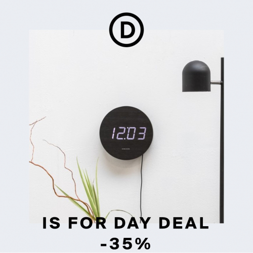 Karlsson | L'horloge digitale réinventée
